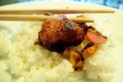 Quick Kung Pao Chicken