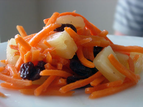 Carrot-Pineapple Slaw