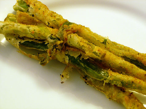 Fried Green Bean Bundles