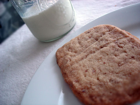 Pecan and Brown Sugar Shortbread Cookies