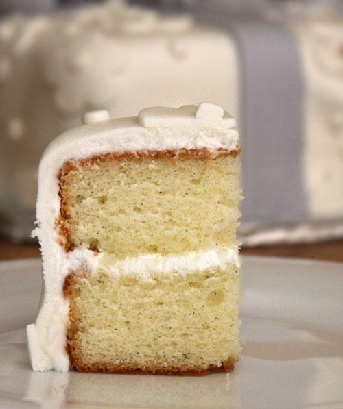 Tahitian Vanilla Bean Cake