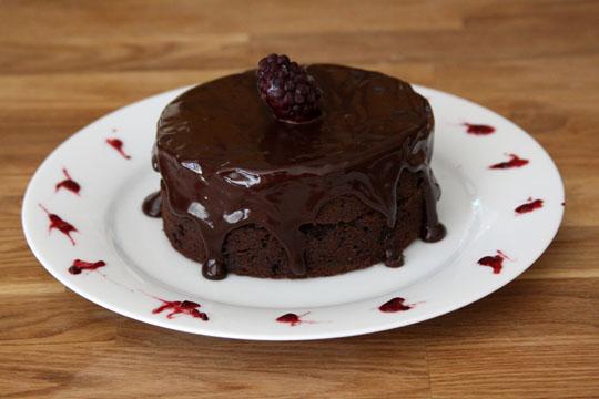 Almost Fudge Gateau | Confections of a Foodie Bride