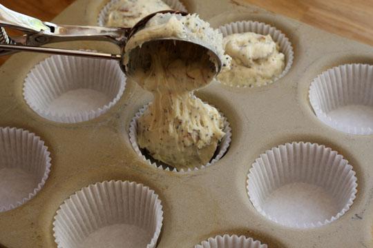 Lemon-Almond Poppyseed Muffins