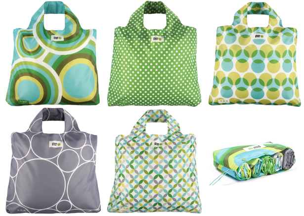 Giveaway #10: Envirosax Reusable Grocery Bags