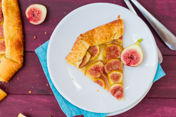 Easy Fig and Honey Galette