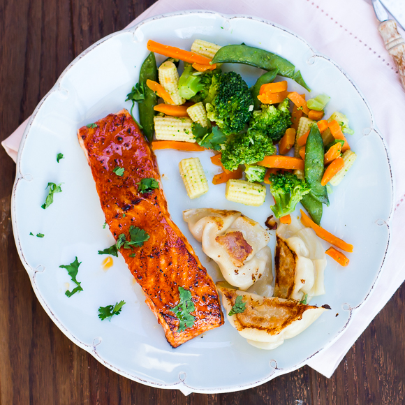 Gochujang and Honey-Glazed Salmon